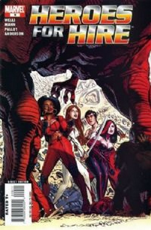 Cover of Heroes for Hire (Vol 2) #9. One of 250,000 Vintage American Comics on sale from Krypton!