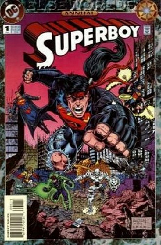 Cover of Superboy Annual (1994-97) #1. One of 250,000 Vintage American Comics on sale from Krypton!