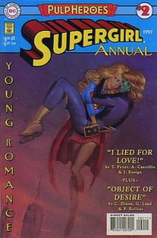 Cover of Supergirl (Vol 2) Annual #2. One of 250,000 Vintage American Comics on sale from Krypton!