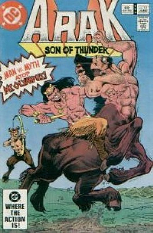 Cover of Arak Son of Thunder (Vol 1) #10. One of 250,000 Vintage American Comics on sale from Krypton!