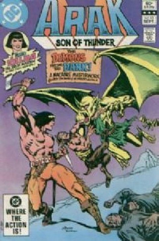 Cover of Arak Son of Thunder (Vol 1) #13. One of 250,000 Vintage American Comics on sale from Krypton!