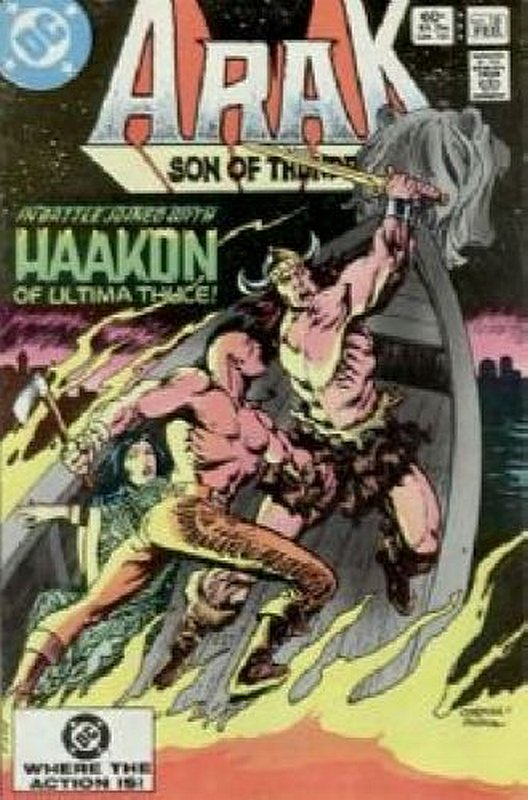 Cover of Arak Son of Thunder (Vol 1) #18. One of 250,000 Vintage American Comics on sale from Krypton!