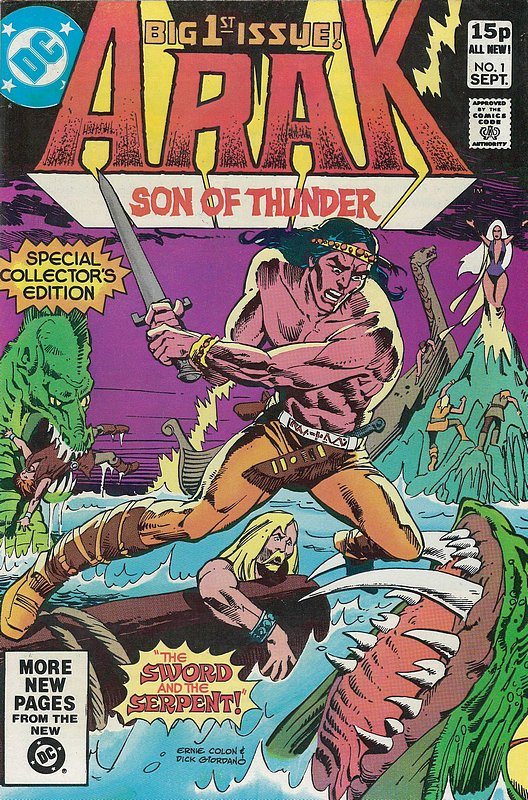 Cover of Arak Son of Thunder (Vol 1) #1. One of 250,000 Vintage American Comics on sale from Krypton!