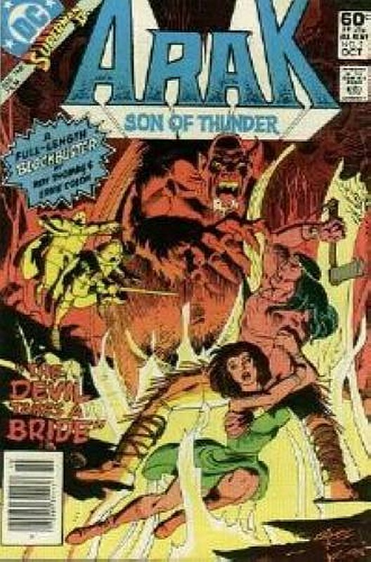 Cover of Arak Son of Thunder (Vol 1) #2. One of 250,000 Vintage American Comics on sale from Krypton!