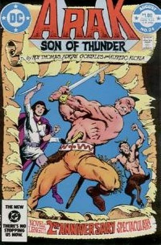 Cover of Arak Son of Thunder (Vol 1) #24. One of 250,000 Vintage American Comics on sale from Krypton!