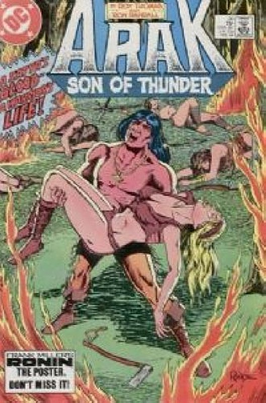 Cover of Arak Son of Thunder (Vol 1) #30. One of 250,000 Vintage American Comics on sale from Krypton!