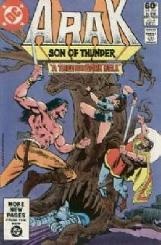 Cover of Arak Son of Thunder (Vol 1) #4. One of 250,000 Vintage American Comics on sale from Krypton!