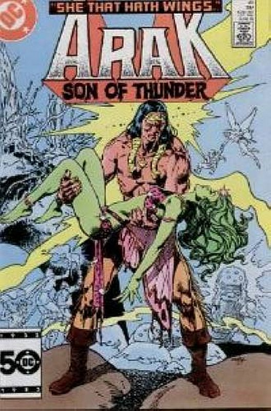 Cover of Arak Son of Thunder (Vol 1) #45. One of 250,000 Vintage American Comics on sale from Krypton!