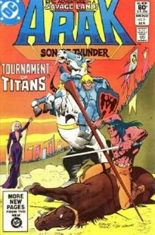 Cover of Arak Son of Thunder (Vol 1) #5. One of 250,000 Vintage American Comics on sale from Krypton!