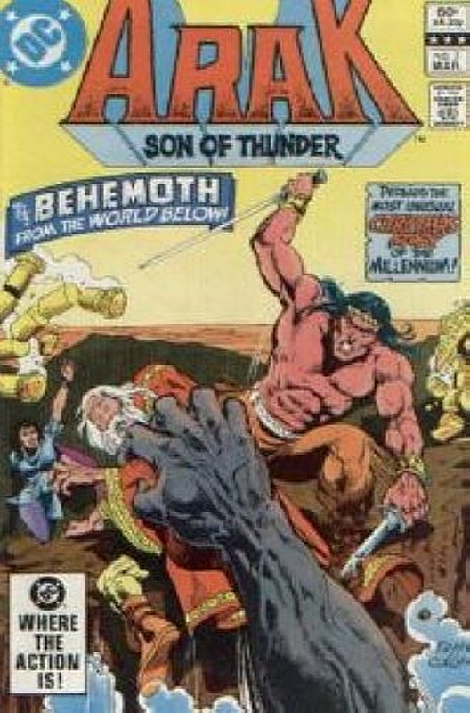 Cover of Arak Son of Thunder (Vol 1) #7. One of 250,000 Vintage American Comics on sale from Krypton!