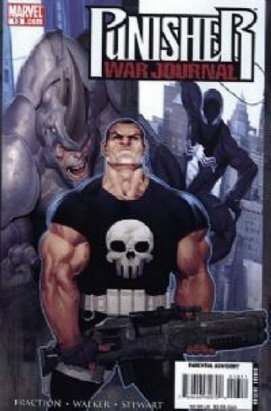 Cover of Punisher War Journal (Vol 2) #13. One of 250,000 Vintage American Comics on sale from Krypton!