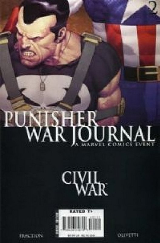 Cover of Punisher War Journal (Vol 2) #2. One of 250,000 Vintage American Comics on sale from Krypton!