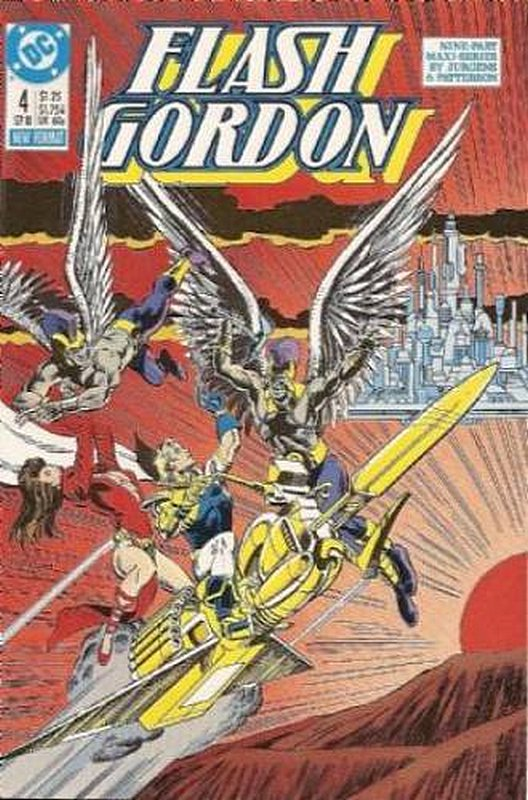 Cover of Flash Gordon (DC) (1988 Ltd) #4. One of 250,000 Vintage American Comics on sale from Krypton!