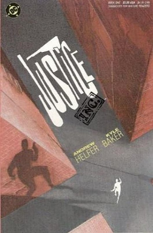 Cover of Justice Inc (1989 Ltd) #1. One of 250,000 Vintage American Comics on sale from Krypton!