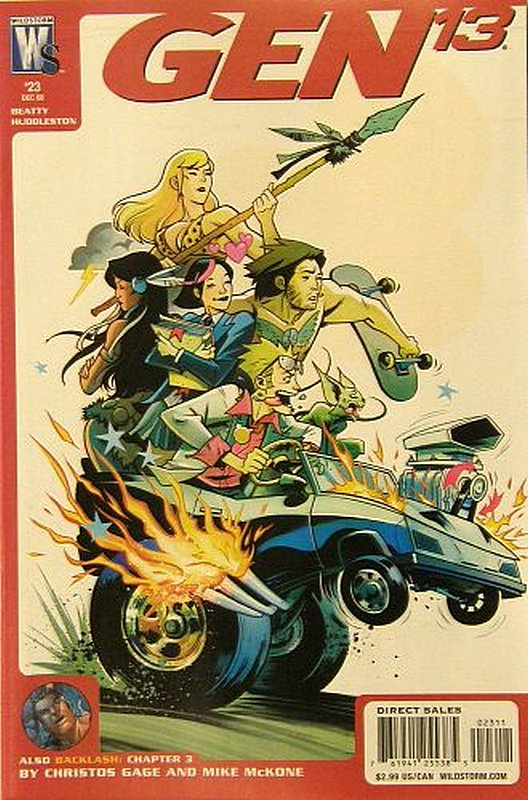 Cover of Gen 13 (Vol 4) #23. One of 250,000 Vintage American Comics on sale from Krypton!