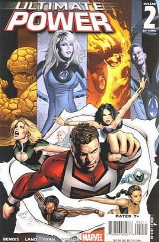 Cover of Ultimate Power (2006 Ltd) #2. One of 250,000 Vintage American Comics on sale from Krypton!