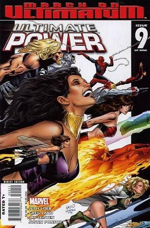 Cover of Ultimate Power (2006 Ltd) #9. One of 250,000 Vintage American Comics on sale from Krypton!
