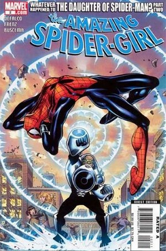 Cover of Amazing Spider-Girl (Vol 1) #2. One of 250,000 Vintage American Comics on sale from Krypton!