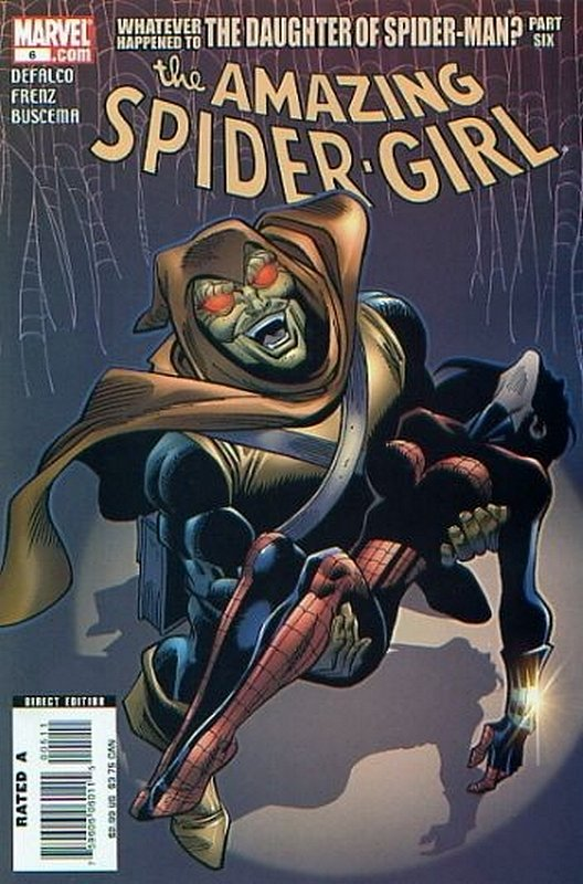 Cover of Amazing Spider-Girl (Vol 1) #6. One of 250,000 Vintage American Comics on sale from Krypton!