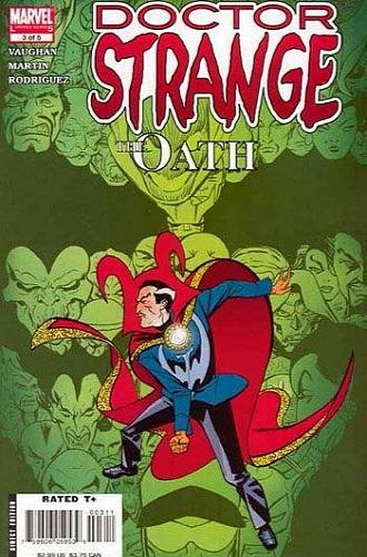 Cover of Doctor Strange: The Oath (2006 Ltd) #3. One of 250,000 Vintage American Comics on sale from Krypton!