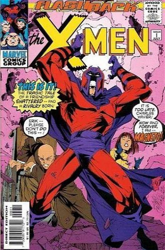 Cover of X-Men (Legacy) (Vol 1) #-1. One of 250,000 Vintage American Comics on sale from Krypton!