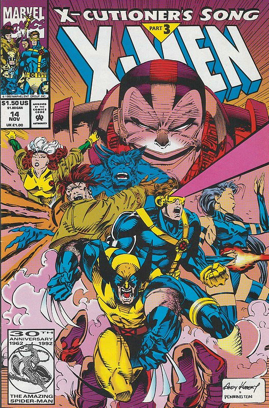 Cover of X-Men (Legacy) (Vol 1) #14. One of 250,000 Vintage American Comics on sale from Krypton!