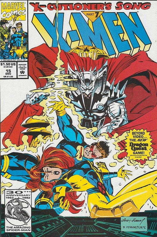 Cover of X-Men (Legacy) (Vol 1) #15. One of 250,000 Vintage American Comics on sale from Krypton!