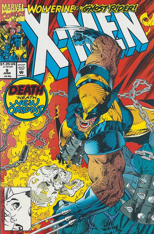 Cover of X-Men (Legacy) (Vol 1) #9. One of 250,000 Vintage American Comics on sale from Krypton!