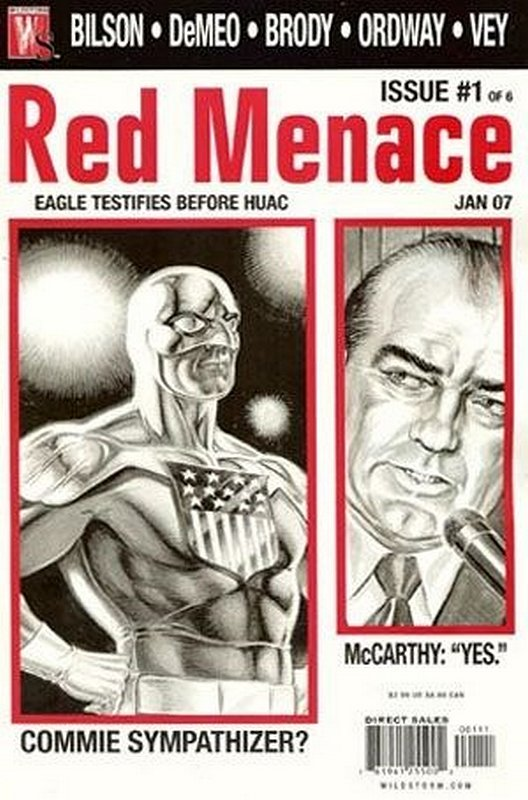 Cover of Red Menace (2006 Ltd) #1. One of 250,000 Vintage American Comics on sale from Krypton!