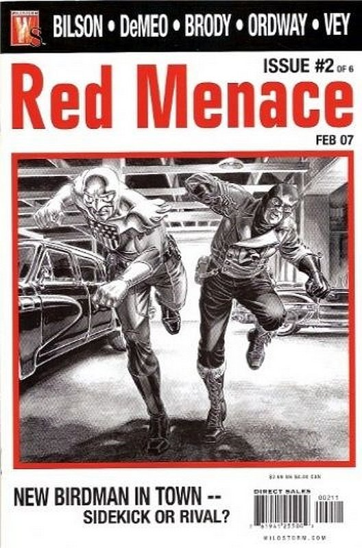 Cover of Red Menace (2006 Ltd) #2. One of 250,000 Vintage American Comics on sale from Krypton!