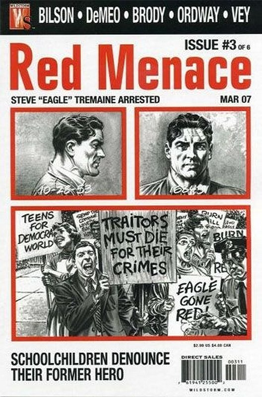Cover of Red Menace (2006 Ltd) #3. One of 250,000 Vintage American Comics on sale from Krypton!
