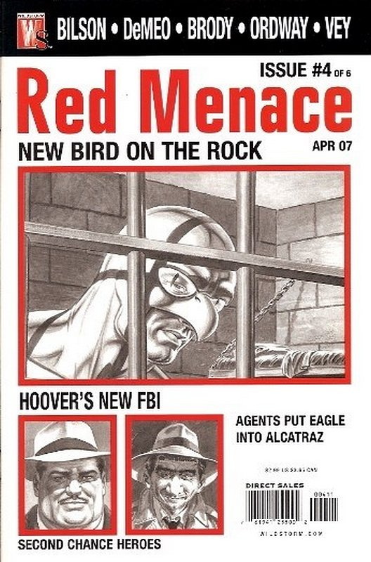 Cover of Red Menace (2006 Ltd) #4. One of 250,000 Vintage American Comics on sale from Krypton!
