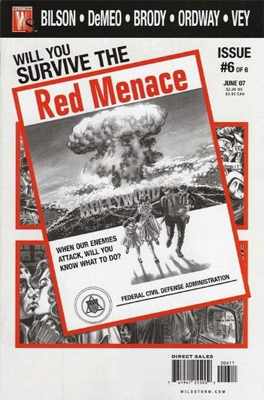 Cover of Red Menace (2006 Ltd) #6. One of 250,000 Vintage American Comics on sale from Krypton!