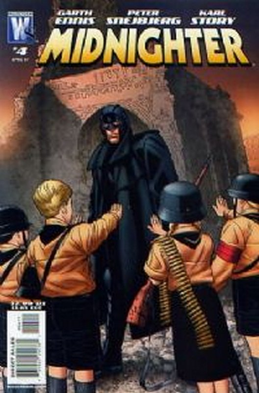 Cover of Midnighter (Vol 1) #4. One of 250,000 Vintage American Comics on sale from Krypton!
