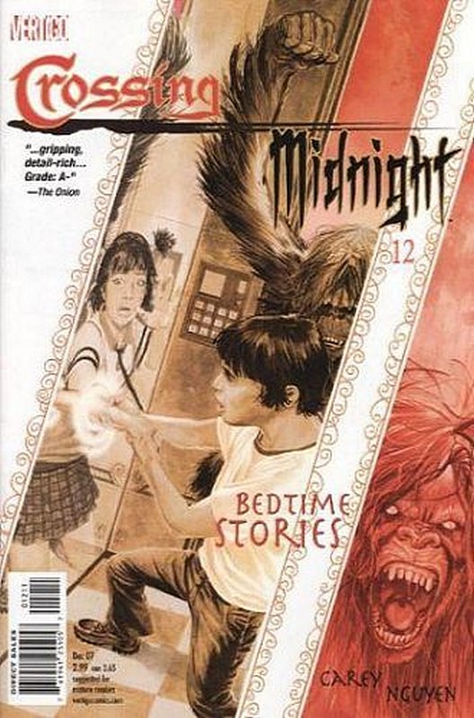 Cover of Crossing Midnight (Vol 1) #12. One of 250,000 Vintage American Comics on sale from Krypton!