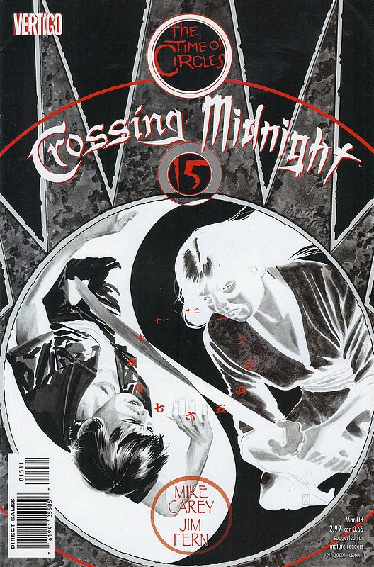 Cover of Crossing Midnight (Vol 1) #15. One of 250,000 Vintage American Comics on sale from Krypton!