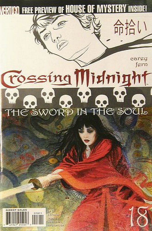 Cover of Crossing Midnight (Vol 1) #18. One of 250,000 Vintage American Comics on sale from Krypton!