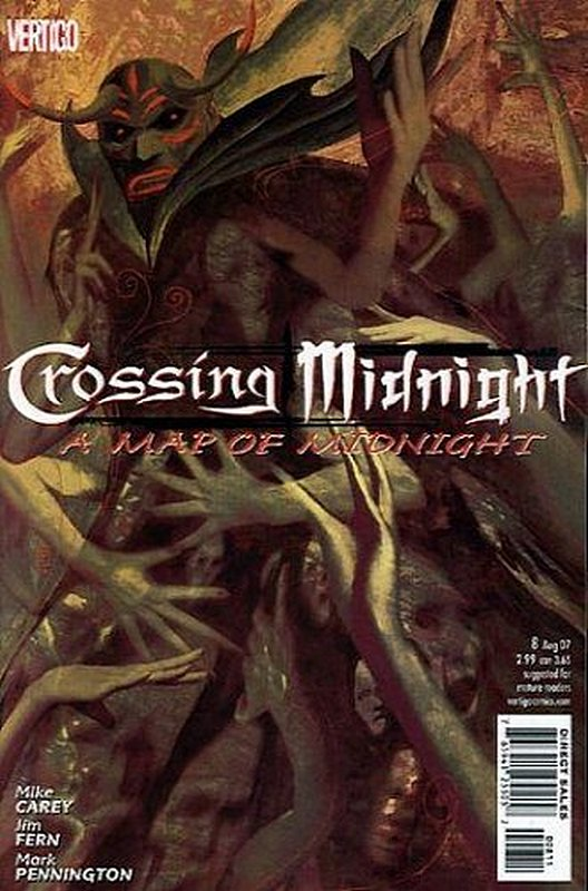 Cover of Crossing Midnight (Vol 1) #8. One of 250,000 Vintage American Comics on sale from Krypton!