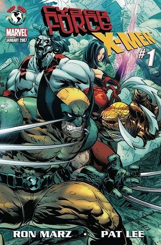 Cover of Cyberforce/X-Men (2007 One Shot) #1. One of 250,000 Vintage American Comics on sale from Krypton!