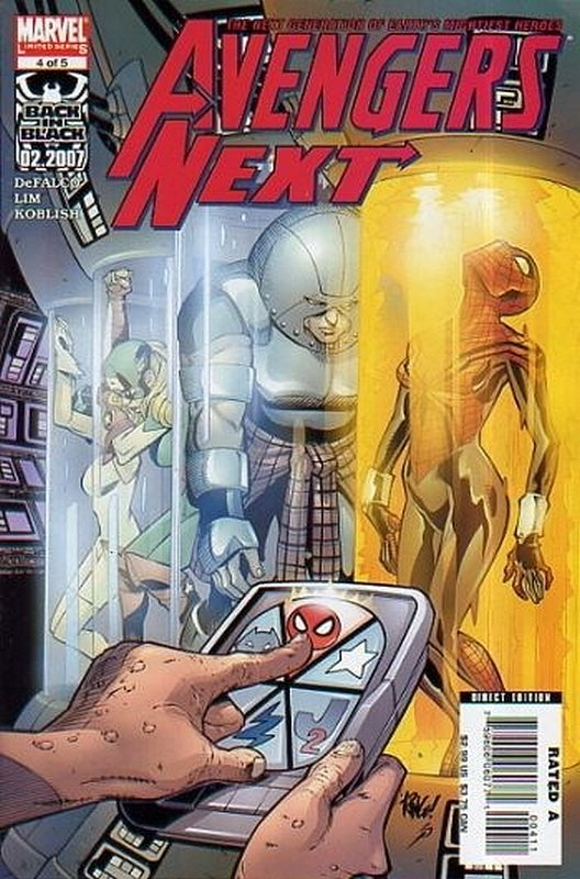 Cover of Avengers Next (2006 Ltd) #4. One of 250,000 Vintage American Comics on sale from Krypton!