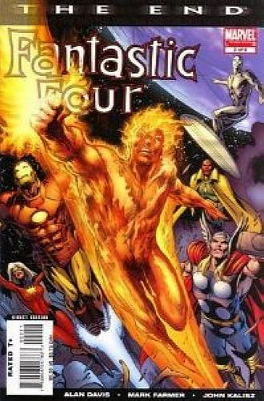 Cover of Fantastic Four: The End (2007 Ltd) #2. One of 250,000 Vintage American Comics on sale from Krypton!