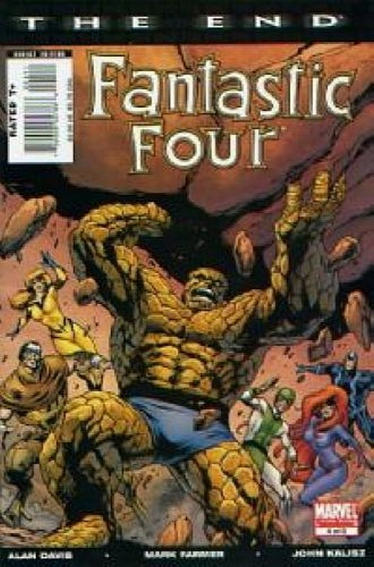 Cover of Fantastic Four: The End (2007 Ltd) #4. One of 250,000 Vintage American Comics on sale from Krypton!