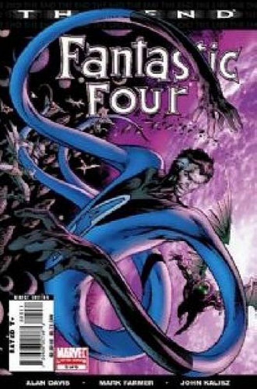 Cover of Fantastic Four: The End (2007 Ltd) #5. One of 250,000 Vintage American Comics on sale from Krypton!
