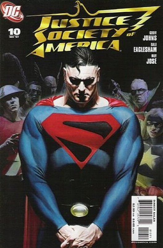 Cover of Justice Society of America (Vol 2) #10. One of 250,000 Vintage American Comics on sale from Krypton!