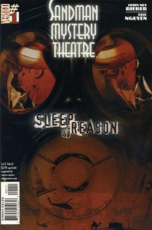 Cover of Sandman Mystery Theatre: Sleep of Reason (Ltd) #1. One of 250,000 Vintage American Comics on sale from Krypton!