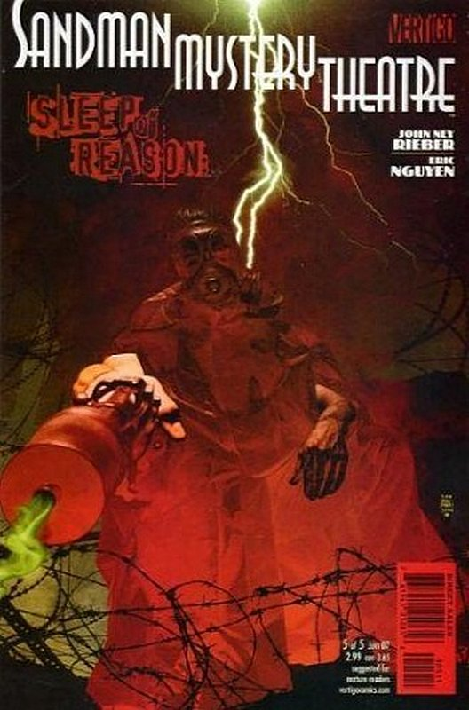 Cover of Sandman Mystery Theatre: Sleep of Reason (Ltd) #5. One of 250,000 Vintage American Comics on sale from Krypton!