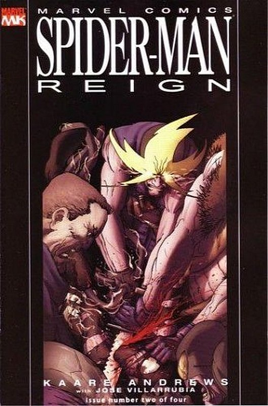 Cover of Spider-Man: Reign (2007 Ltd) #2. One of 250,000 Vintage American Comics on sale from Krypton!