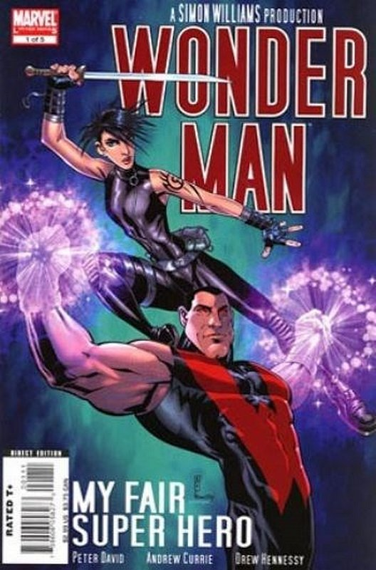 Cover of Wonder Man (2007 Ltd) #1. One of 250,000 Vintage American Comics on sale from Krypton!