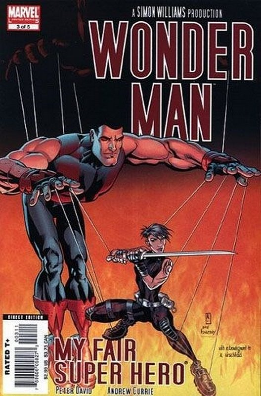 Cover of Wonder Man (2007 Ltd) #3. One of 250,000 Vintage American Comics on sale from Krypton!