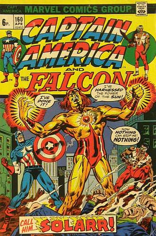 Cover of Captain America (Vol 1) #160. One of 250,000 Vintage American Comics on sale from Krypton!